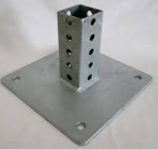 8″ x 8″ U-Channel Surface Mount Anchor