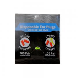"Ear Plugs  ""100 count box"""